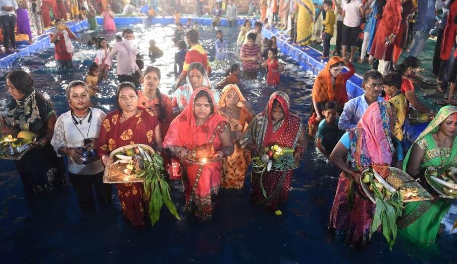 छठ पूजा: मुंबई में...- India TV Hindi