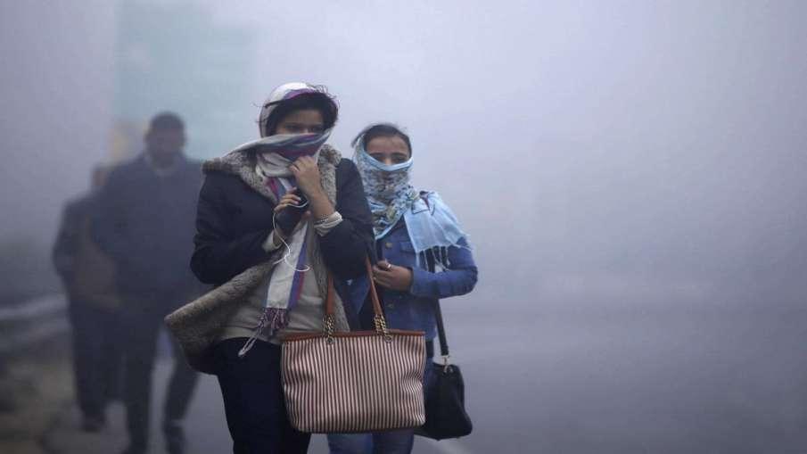 delhi coldest november morning in 17 years । दिल्ली में पिछले 17 साल में नवंबर की सबसे सर्द सुबह, शह- India TV Hindi