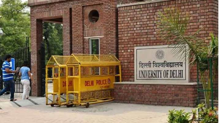 DU said in court Pending results to be announced by 30...- India TV Hindi