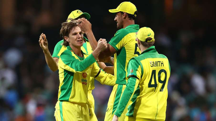 Ind VS Aus 2020 live cricket score 1st ODI india vs australia today match ball by ball updates in h- India TV Hindi