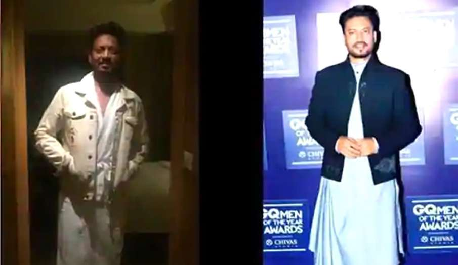 Babil shares Irrfan Khan funny meme which actor had sent him a long time ago- India TV Hindi