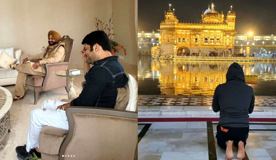 kapil sharma meets navjot singh sidhu- India TV Hindi