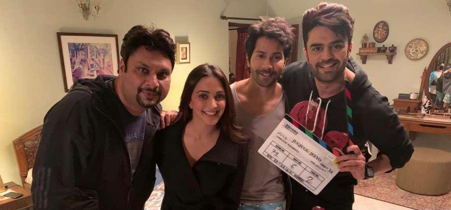 मनीष पॉल ने वरुण धवन और कियारा आडवाणी के साथ शुरू की 'जुग जुग जियो' की शूटिंग- India TV Hindi