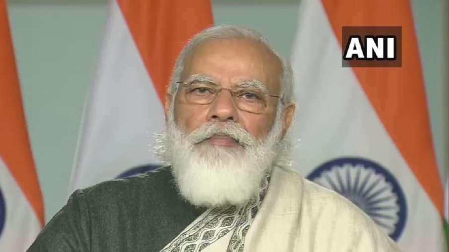 प्रधानमंत्री नरेंद्र मोदी ने कहा-26/11 मुंबई हमले का जख्म भारत भूल नहीं सकता - India TV Hindi