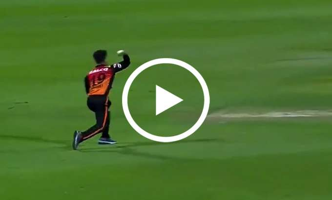 Rashid Khan throw on Free Hit Ball- India TV Hindi