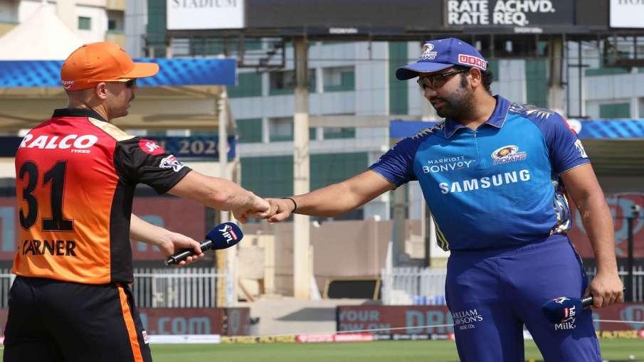 SRH vs MI, TOSS, Playing XIs, - India TV Hindi