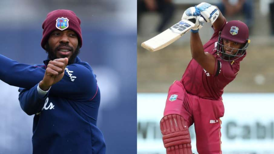 Roston Chase and Nicholas Pooran became the vice captains of the West Indies Test team for the tour - India TV Hindi
