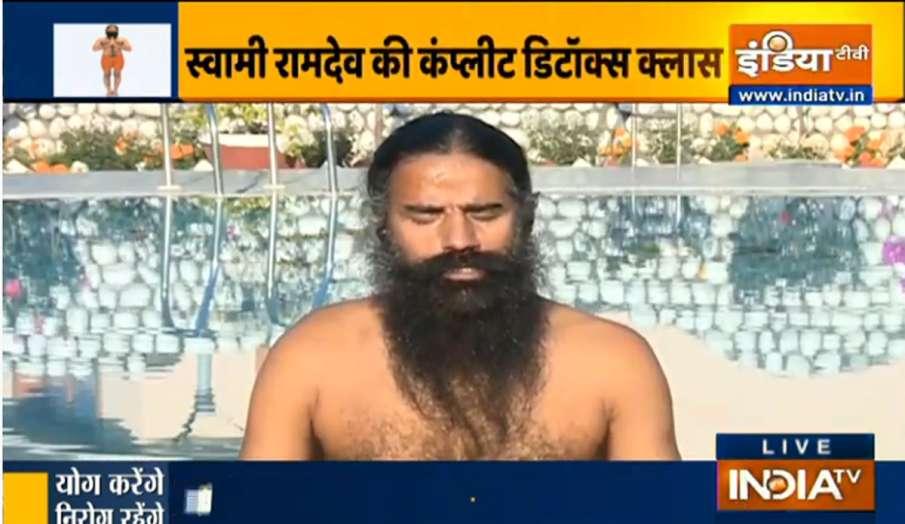 स्वामी रामदेव से...- India TV Hindi