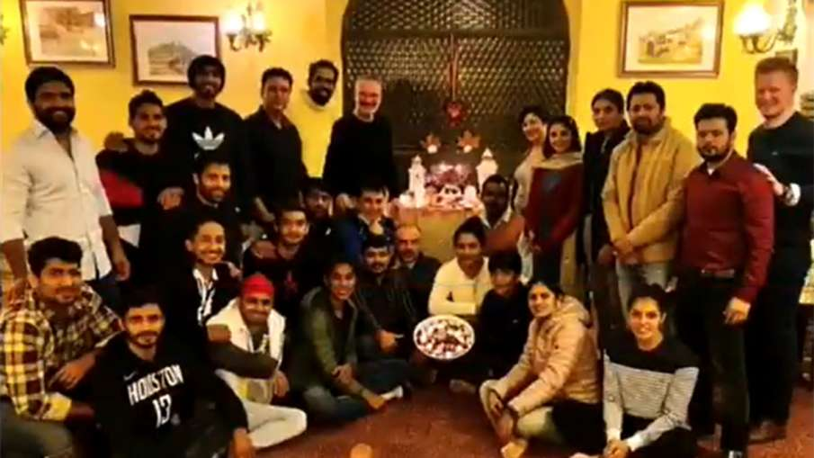 Indian boxing teams celebrated Diwali in Italy away from home- India TV Hindi