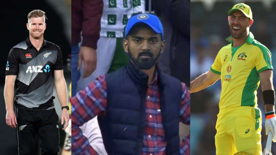 Jimmy Neesham and Glenn Maxwell troll KL Rahul after playing stormy innings in international cricket- India TV Hindi
