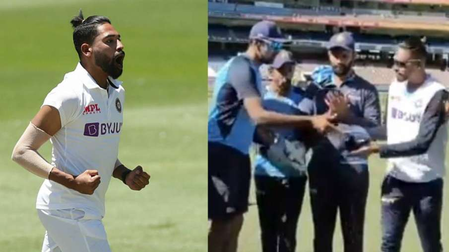 IND vs AUS: Mohammad Siraj's response to his brother's response, speaking about father said that thi- India TV Hindi