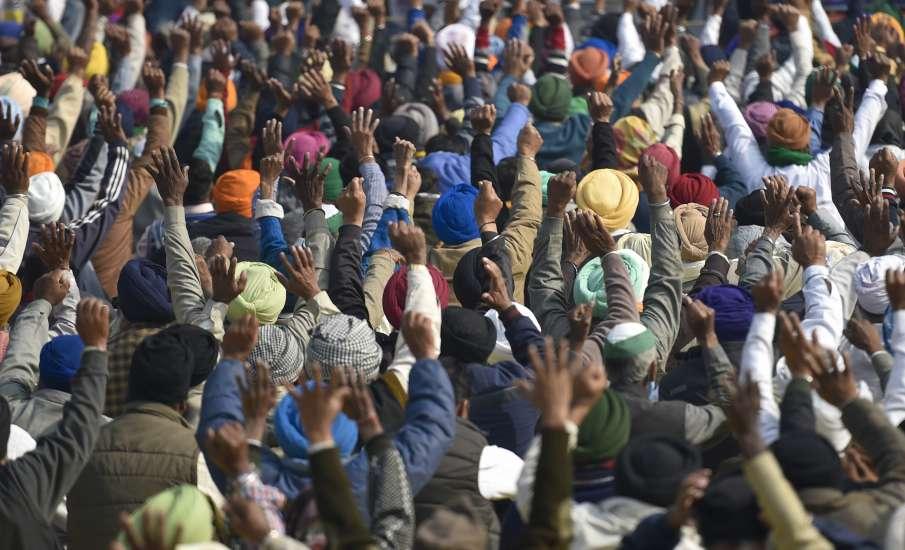 किसान आंदोलन LIVE: दिल्ली-नोएडा के बीच चिल्ला बॉर्डर जाम करेंगे किसान- India TV Hindi