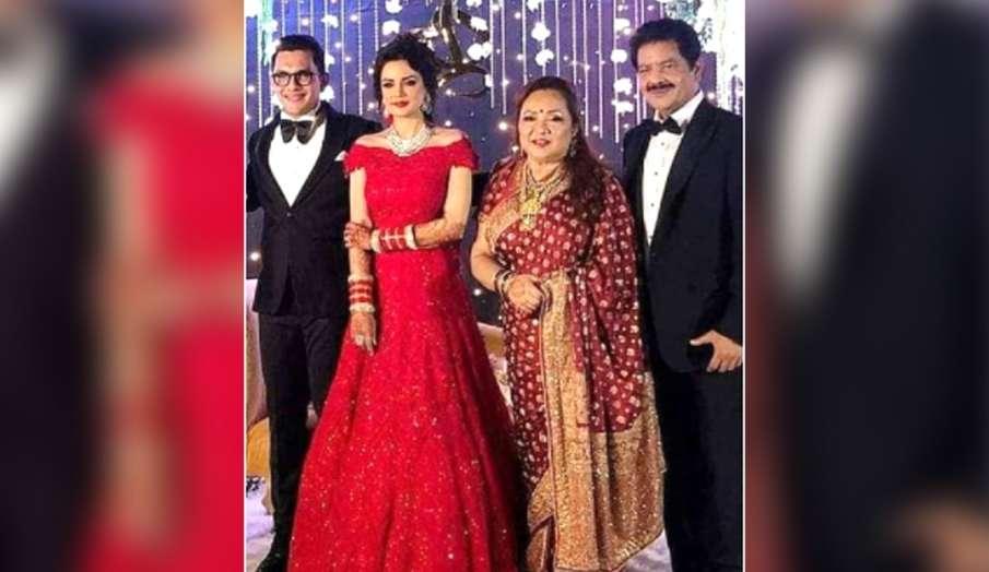 aditya narayan shweta agarwal wedding reception photos and videos- India TV Hindi