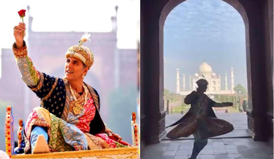 akshay kumar as Shah Jahan in agra- India TV Hindi