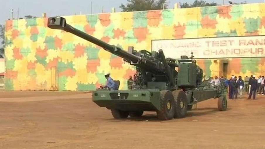 DRDO developed indigenous howitzer advanced towed artillery gun system test firing balasore firing r- India TV Hindi