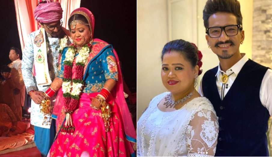 bharti singh Haarsh Limbachiyaa celebrates 3rd wedding anniversary- India TV Hindi