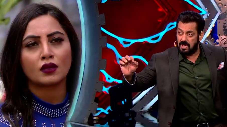 bigg boss 14 arshi khan leave show after salman khan slams her for fight with vikas gupta- India TV Hindi