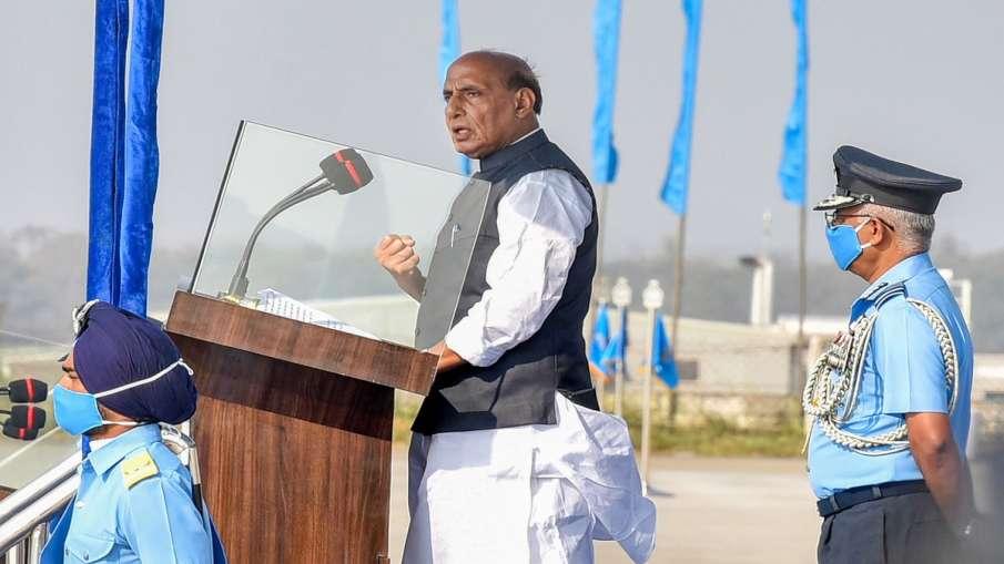 Want peace, but won't tolerate any harm to India's self- respect: Rajnath Singh on Indo-China border- India TV Hindi
