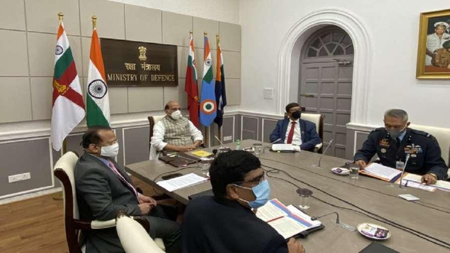 Rajnath Singh, Kendriya Sainik Board, CSR Webinar, South Block, - India TV Hindi