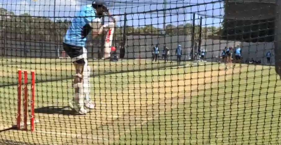Indian players seen sweating the nets ahead of Test series against Australia, watch video- India TV Hindi