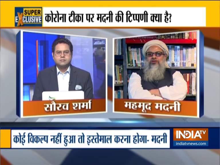 Corona Vaccine, pork gelatin, muslims, pig fat, Mahmood Madani- India TV Hindi