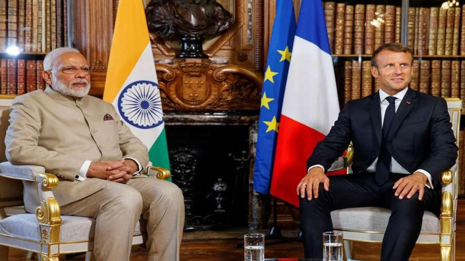पीएम मोदी ने फ्रांस के राष्ट्रपति एमैनुएल मैक्रों से की फोन पर बातचीत, आतंकवादी हमले पर जताया शोक- India TV Hindi