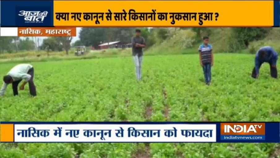 New farm laws helped Rajasthan-Maharashtra farmers- India TV Hindi