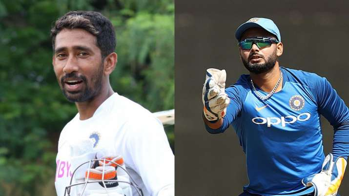 Rishabh Pant's poor wicketkeeping, wRiddhiman Saha started trending on Twitter- India TV Hindi