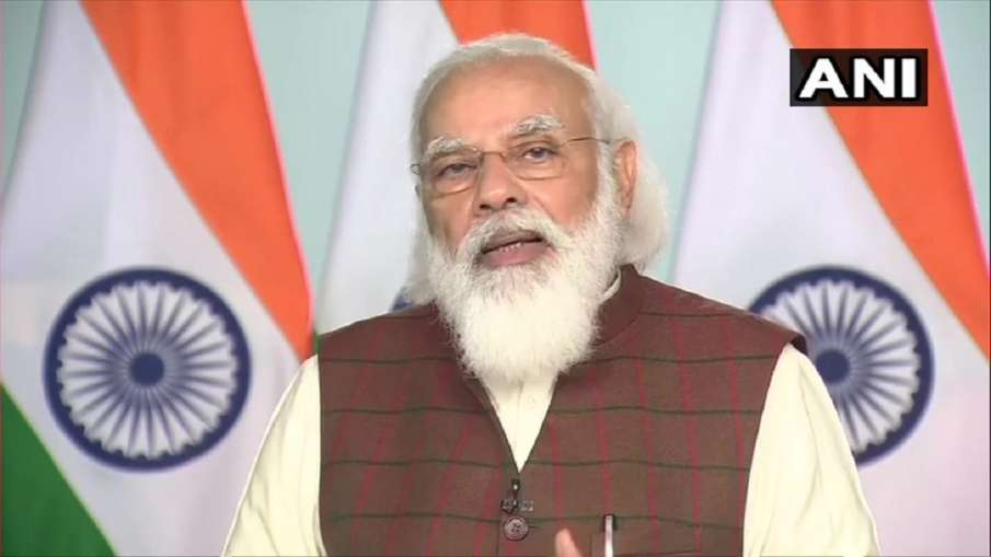 Inauguration of Khurja to Bhaupur dedicated freight corridor, know the big things of PM Modi's speech - India TV Hindi