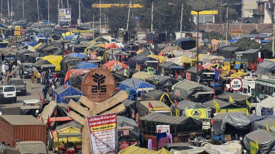 farmer protest coronavirus test sonepat dm order । किसान आंदोलन: सोनीपत के डीएम बोले- सिंघू बार्डर प- India TV Hindi