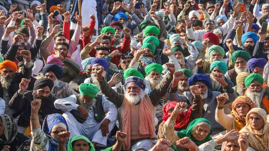 Kisan Andolan farmer protest pm narendra modi agriculture minister msp apmc contract farming traffic- India TV Hindi