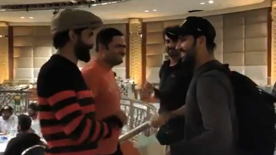 IND vs AUS: Rohit Sharma Join Indian team, players welcomed him in this way, watch video- India TV Hindi