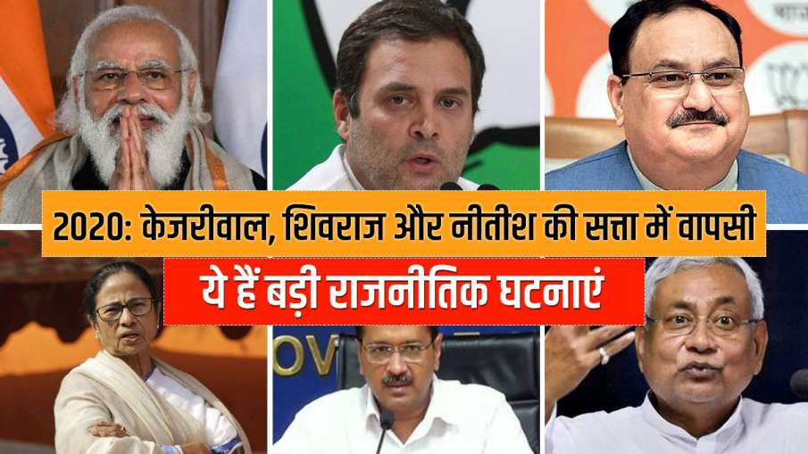 Top 10 political events of 2020 - India TV Hindi