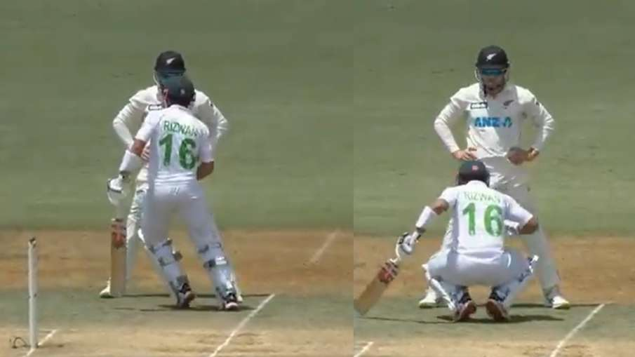 Pakistani captain started dancing on the beach field, New Zealand players kept laughing watch the vi- India TV Hindi