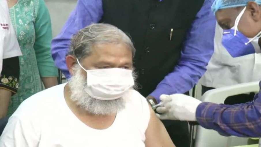 anil vij shifted to rohatak coronavirus covaxin dose । बैचेनी की शिकायत के बाद कोरोना संक्रमित अनिल - India TV Hindi