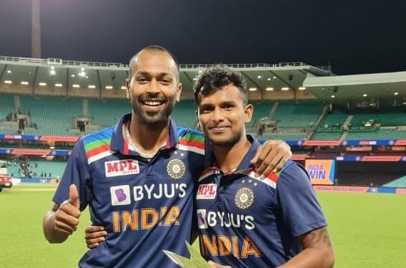 Hardik Pandya, T Natarajan, India vs Australia, Pandya Man of the Series, Hardik Pandya Tweet, India- India TV Hindi