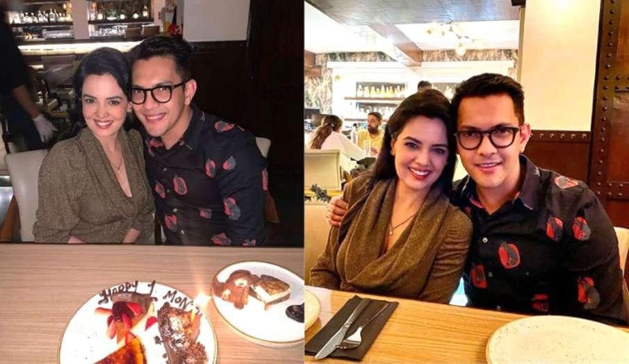aditya narayan shares pics with wife shweta agarwal- India TV Hindi