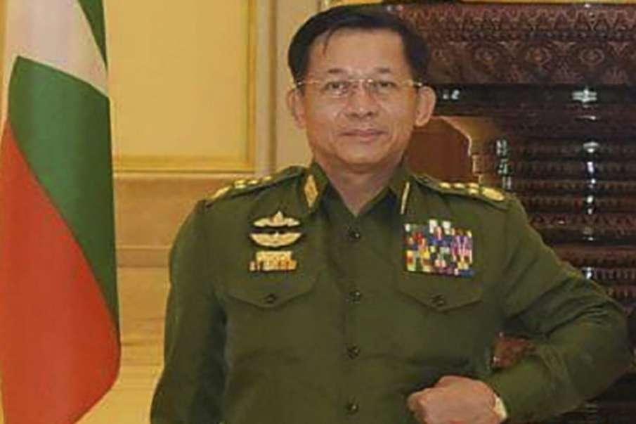 Myanmars Army Commander Senior Gen. Min Aung Hlaing- India TV Hindi