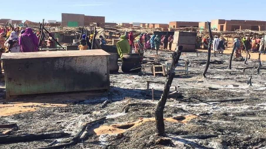 Violence in Sudan Darfur between Arab and non arab- India TV Hindi