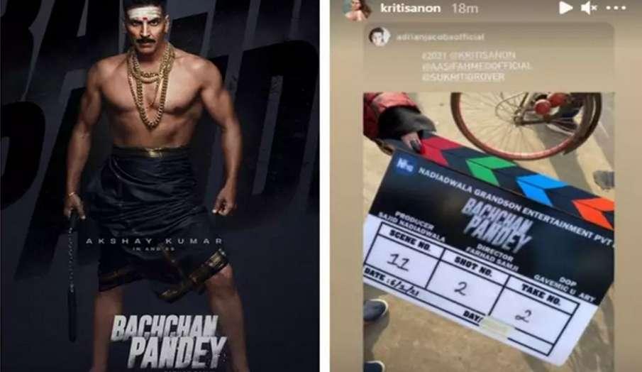 अक्षय कुमार की फिल्म 'बच्चन पांडे' की टीम पहुंची जैसलमेर, सामने आईं तस्वीर- India TV Hindi