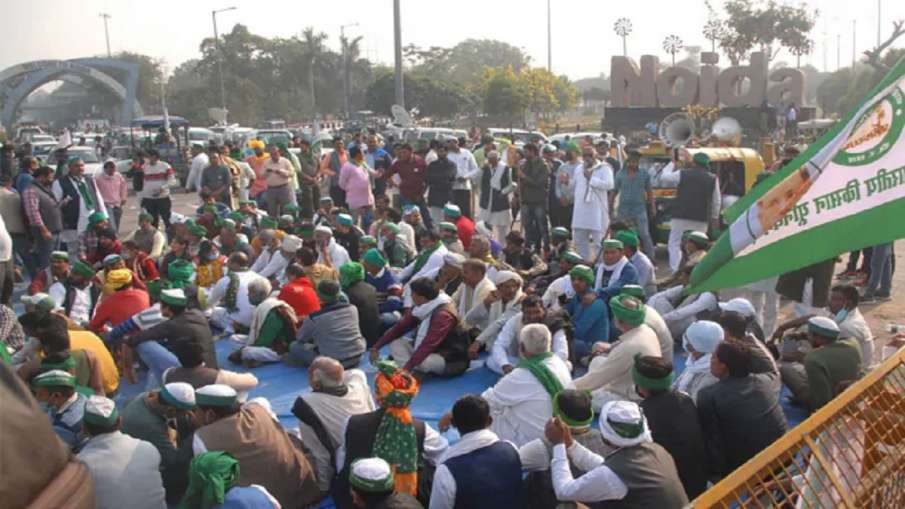 Kisan Andolan Farmers Protest end at chilla border after Republic Day violence latest news- India TV Hindi