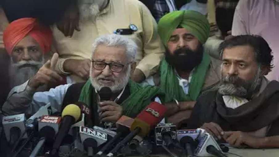 Delhi Police FIR Name Yogendra Yadav Darshan Pal Singh Joginder Singh Ughraha buta singh burjgil bal- India TV Hindi