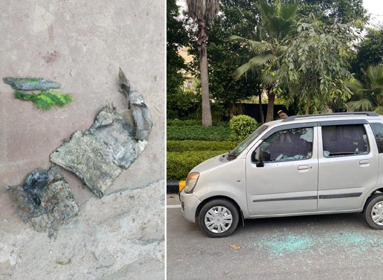 Israel Embassy Blast- India TV Hindi