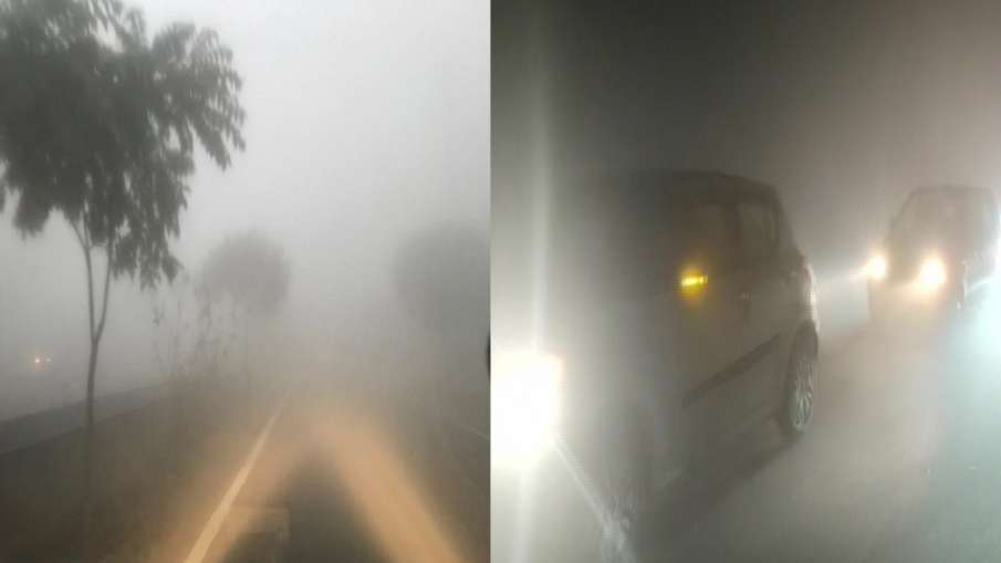 delhi ncr ghaziabad noida minimum temperature weather imd alert cold wave dense fog today updates दि- India TV Hindi