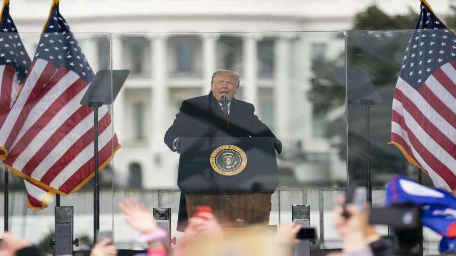 ट्रंप ने अपने समर्थकों को भड़काया ? अमेरिकी सांसदों ने राष्ट्रपति पद से तत्काल हटाने की मांग की - India TV Hindi