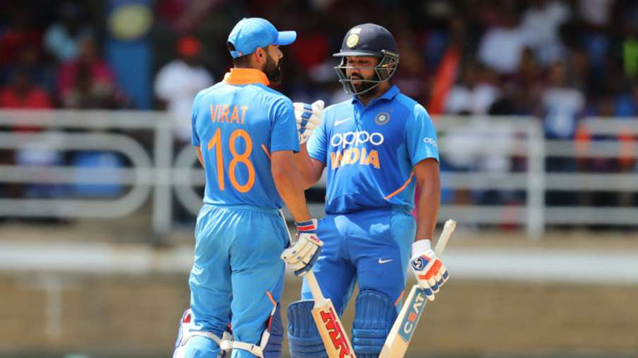 Virat Kohli and Rohit retain first and second position in ICC ODI rankings- India TV Hindi