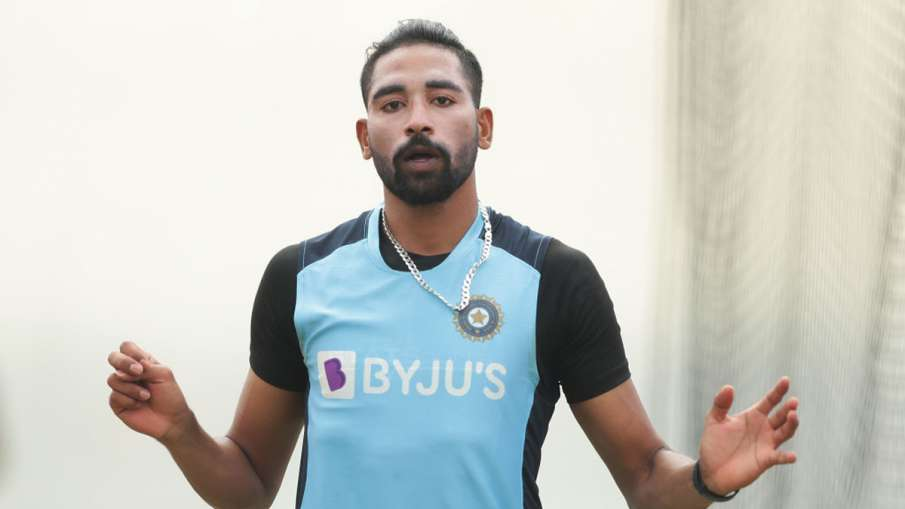 IND vs AUS: Mohammed Siraj revealed, why his eyes were moist during the national anthem - India TV Hindi