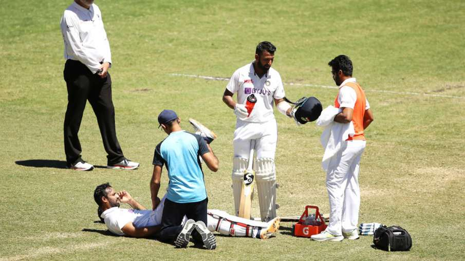 Hanuma Vihari told the painful story of Sydney test, said he was not feeling leg after injection- India TV Hindi