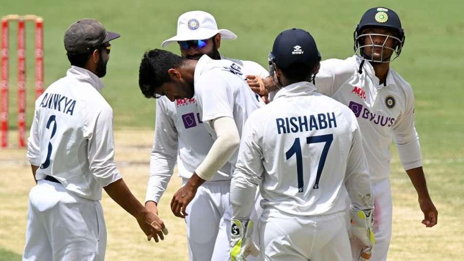 washington sundar Ramakrishnan Sridhar India vs Australia 4th Test Gaba- India TV Hindi
