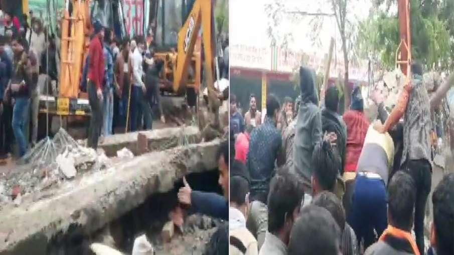 गाजियाबाद में श्मशान भूमि की छत ढही, हादसे में 18 लोगों की मौत- India TV Hindi